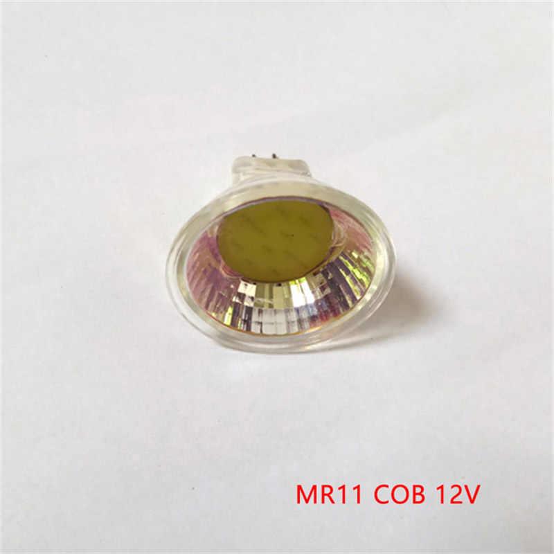 Super Bright 3W 5W Mini MR11 COB LED Bulb 220V 35mm Led Spotlights AC DC 12V LED bulb lamp Warm/Nature/Cold White Home lighting