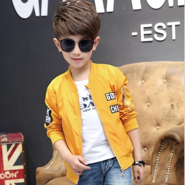 Весенняя куртка для мальчиков, От 3 до 13 лет, Детская ветровка с длинными рукавами и круглым вырезом для активного отдыха, подростковая одежда, Крутое спортивное пальто для больших мальчиков, верхняя одежда для мальчиков