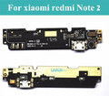 1piece New For xiaomi redmi Note 2 Dock Connector Micro USB Charging Port Flex Cable Ribbon Module + Mic Replacement Parts