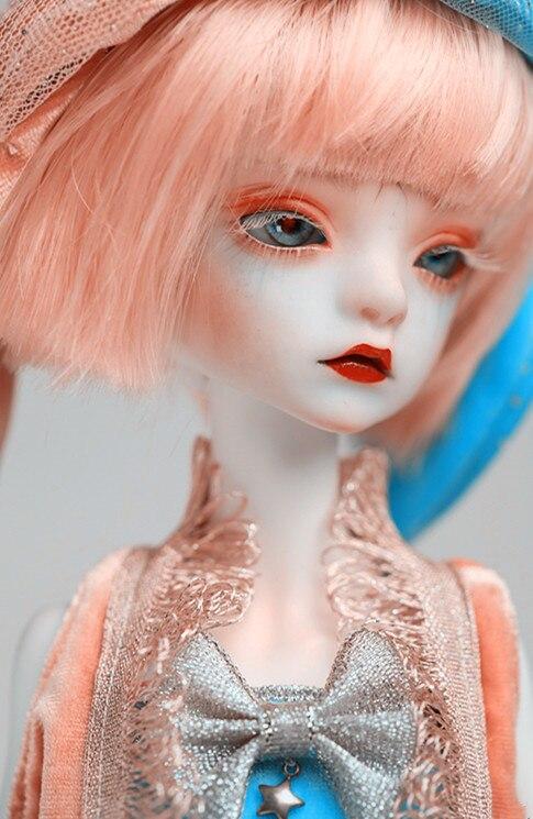 Bella BJD muñeca 1/4 Delgado modelo de moda niños juguetes de alta calidad mejor regalo de cumpleaños ojo muñeca Castillo-in Muñecas from Juguetes y pasatiempos    1