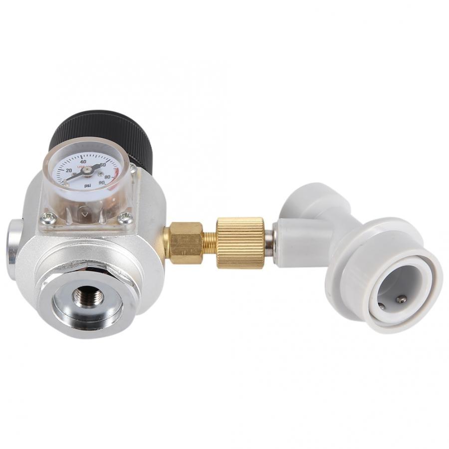 Birra Homebrew CO2 Regolatore Charger Kit Gas Scollegare Casa Birra alla spina Kegerator Co2 Diffusore Generatore di Homebrew Ball Lock Barile