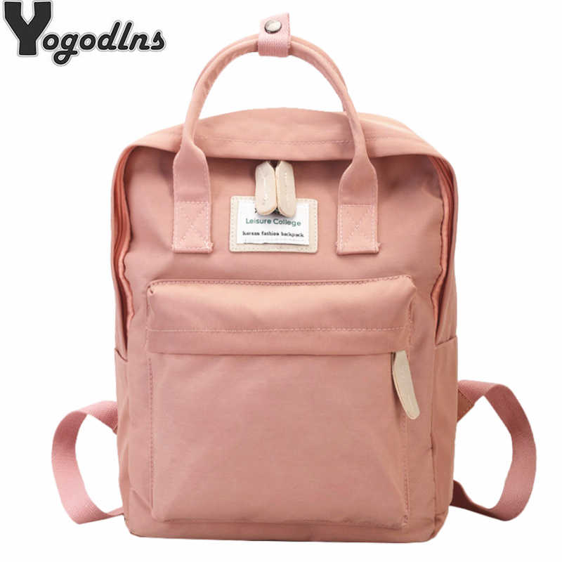 Women Canvas Backpack Male Girls Laptop Shoulder Bag School Book Bags for Teens Casual Travel Knapsack Large Capacity Rucksack