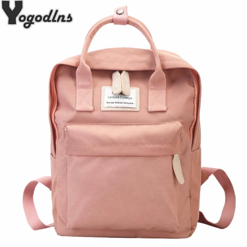 Women Canvas Backpack Male Girls Laptop Shoulder Bag School Book Bags For Teens Casual Travel Knapsack Large Capacity Rucksack