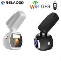 Relaxgo Newest Mini Car DVR Wifi GPS Tracker FHD 1296P Car DVR Video Recorder Dash Cam