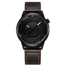 VALLKIN Watch Men Fashion Sport Quartz Clock Mens Wrist Watches Top Brand Luxury Leather Waterproof Watch Relogio Masculino недорого