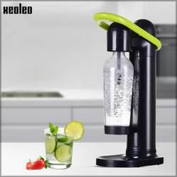 XEOLEO komercyjny syfon bąbelkowy ekspres do wody generator bąbelków maszyna do napojów bąbelkowych woda sodowa maszyna czarny/biały w Saturatory od AGD na