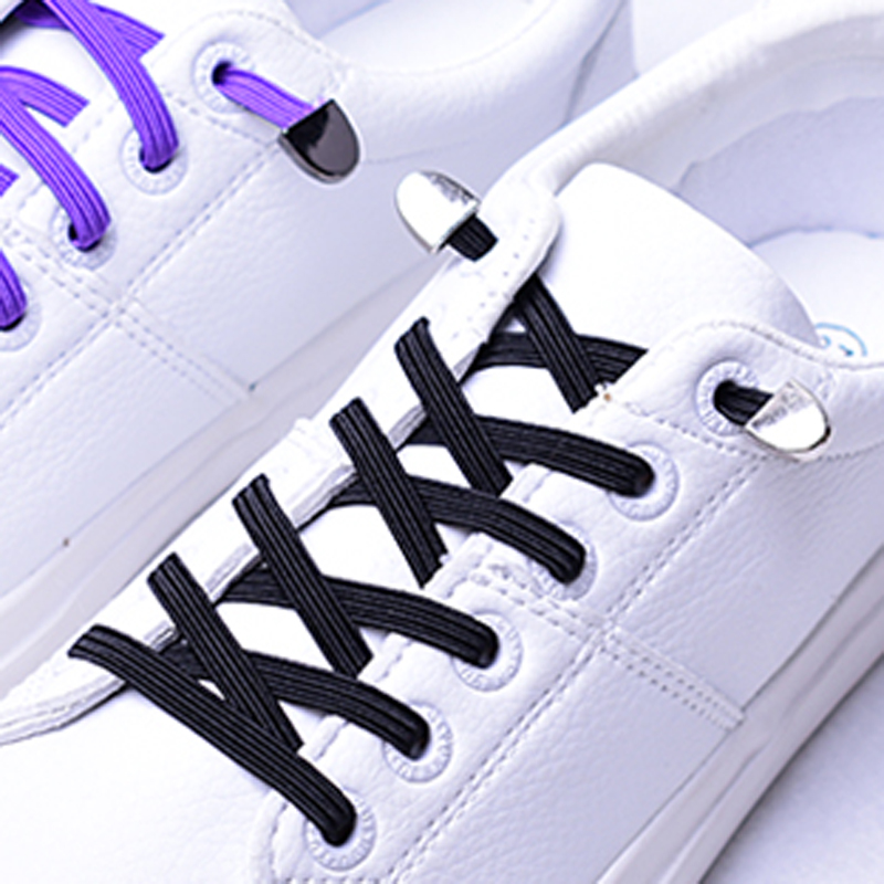 3 sets Unisex metal shoelace Lace buckle anchor casual shoes sports shoes with strap semicircular buckle and lace for lazy shoes in Shoelaces from Shoes
