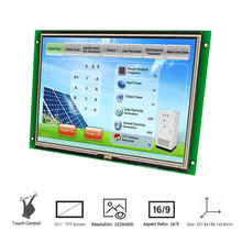 stone hmi micro capacitive touch screen climate control