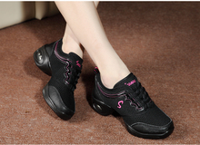 Lady Fitness Slimming heighten Dancing shoes Women Modern Jazz dancing shoes girls Breathable mesh air cushion