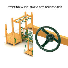 Plastic Steering Wheel Swing Set Accessories for Wood Backyard Play Set Steering Wheel for Girl Boy Kids Children Gift Play Toy(China)