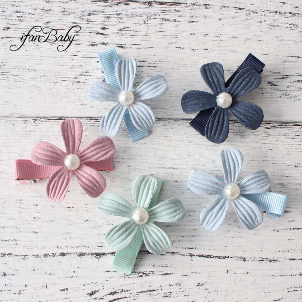 Girl Hair Accessories Hair Clips Cute Children Accessories Hair Pin Flower Clip