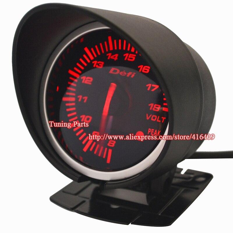 60mm Diameter Def Bf Series Volt Meter Sport Car Gauge In Volt