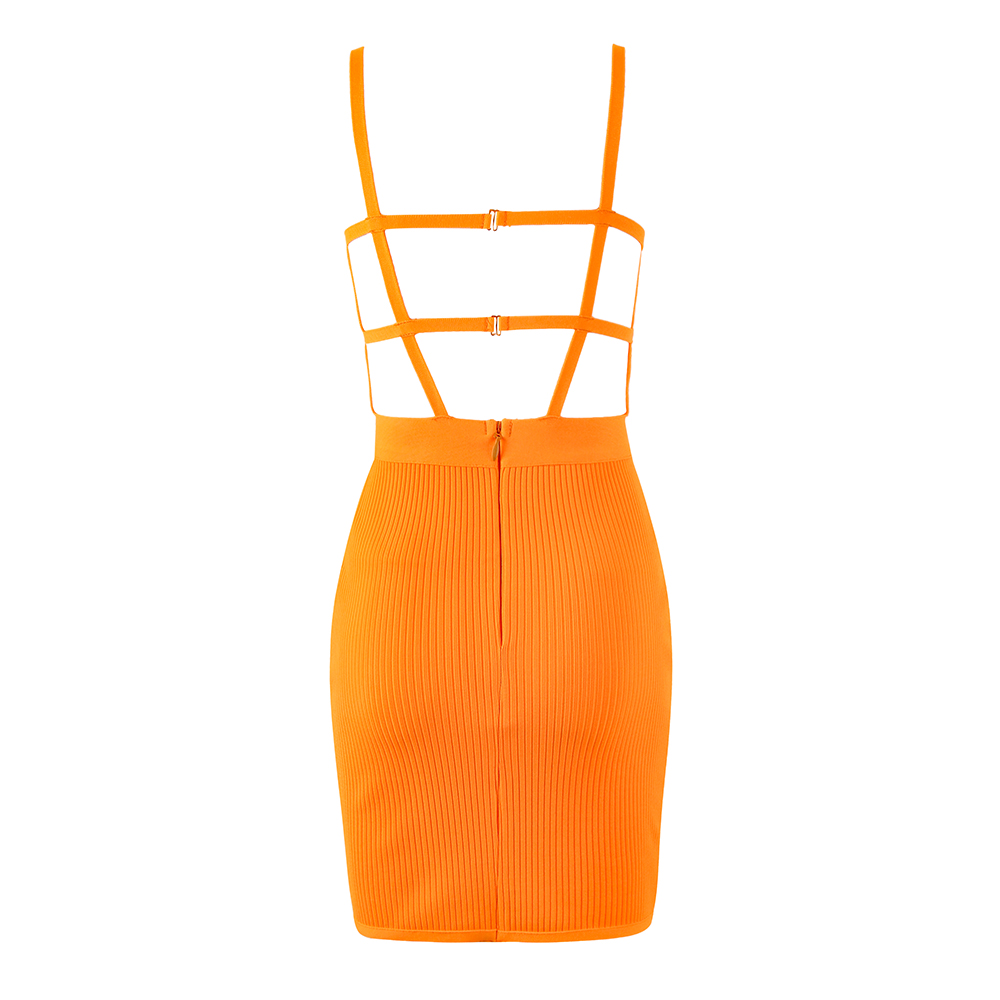 Solid-Nude-Sexy-Backless-Orange-Bandage-Dress-2019-Knitted-Elastic-Party-Dress (3)