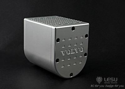 LESU Metall Auspuff Box für 1/14 Tmy VLV RC Modell Traktor Lkw Auto TH02322-in RC-Lastwagen aus Spielzeug und Hobbys bei  Gruppe 1