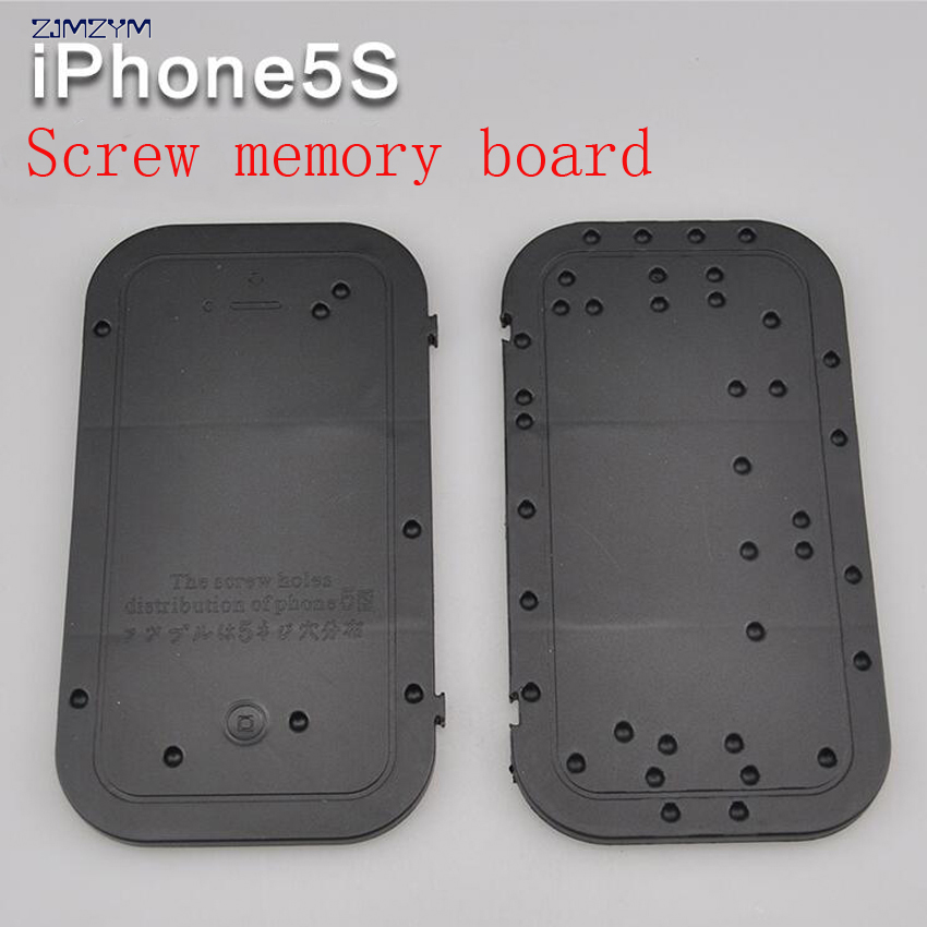 3PC/set iphone5S Screw memory board Position board Disassemble maintenance tool distribution positioning plate for iPhone
