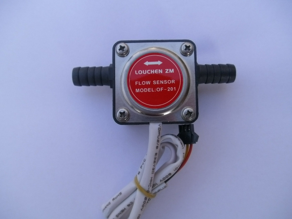 NEW 13mm Gear Flow Sensor Liquid Fuel Oil Flow Sensor Counter Diesel Gasoline