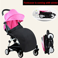 Baby Stroller Foot Cover Footmuff 11 Gift Lightweight Compact Trolley Travel Baby Stroller Wagon Portable Folding Baby Stroller