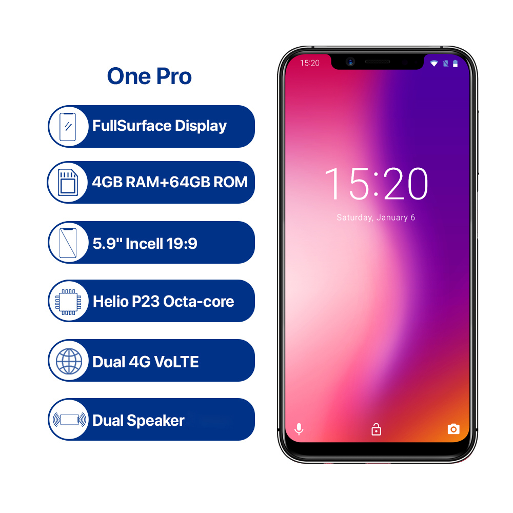 UMIDIGI One Pro Global Version 5.9