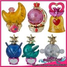 Original Bandai Sailor Moon 20th Anniversary Gashapon Sailor Moon Prism Power Dome Part.2 Mini Figures - Set of 6 PCS