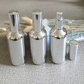 140pcs 100ml high temperature silver plated refillable empty atomiser spray bottle,glass perfume bottle,containe subpackage jar