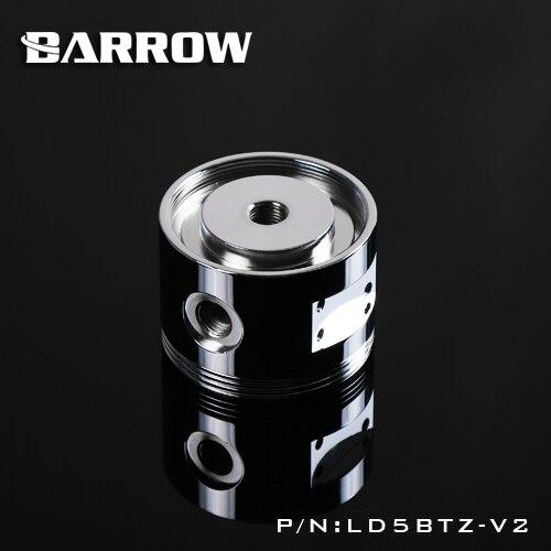 Barrow Pompa In Lega di Alluminio Mod Top Cover per D5/SPG40A LD5BTZ-V2 Specchio Dargento