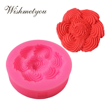 WISHMETYOU Silicone Soap Mold Roses Cake Flowers Decorative Tools 3D Embossed Wedding Decoration Handmade DIY