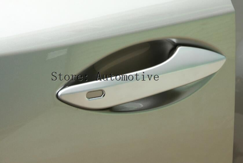 For Lexus RX200t RX350 RX450h <font><b>RX200</b></font> NX200t NX300 NX300h 2016 2017 Car Styling Accessories Chrome Door Handle Trim Stickers 4pcs image