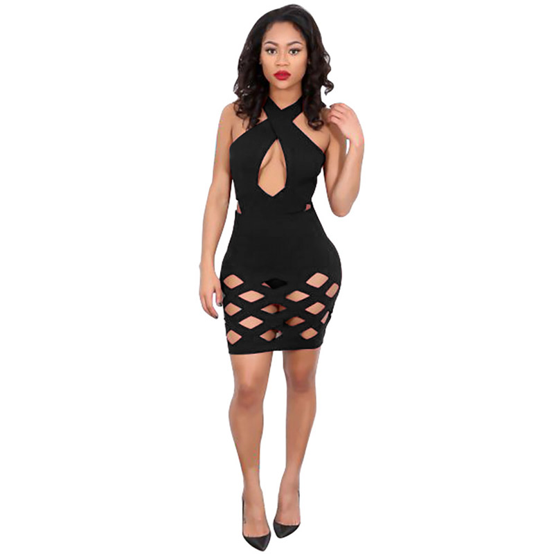 Detail Feedback Questions about Women s Kate Middleton Dress Sexy Halter  Collar Stretch Bodycon Hollow Out African Party Night Evening Sexy Dress  Club Wear ... 86577fa15e67