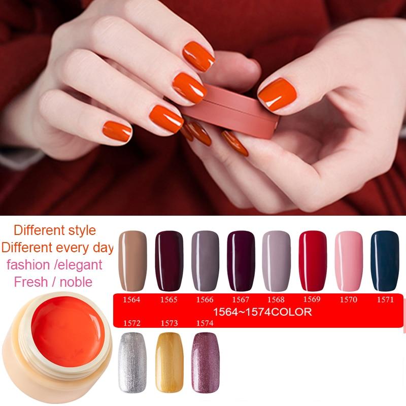 MDSKL 75 Colors 5ML UV Gel Nail Polish Product Nail Art Tips Design ...