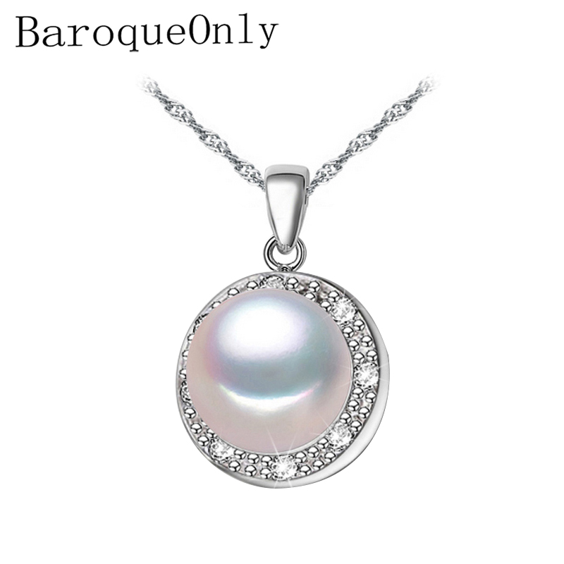 BaroqueOnl 925 sterling silver black pearl pendant necklace for women Elegant freshwater pearl jewelry AAAA high qualityBaroqueOnl 925 sterling silver black pearl pendant necklace for women Elegant freshwater pearl jewelry AAAA high quality