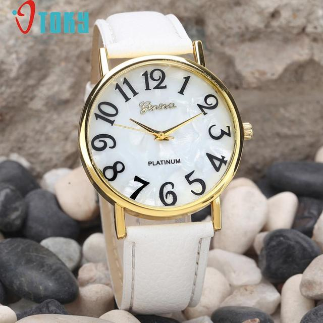 Hot Hothot Sales Women Retro Digital Dial Leather Band Quartz Analog Wrist Watch Watches,Girl,Alloy,,round,luxury jy28