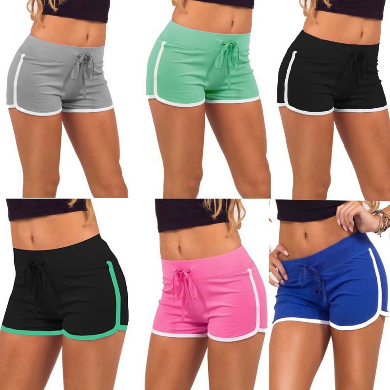 2017 ladies shorts sexy shorts for woman Marathon Jogging Sportswear Beach  short Workout exercise mini sports ... 5074189be5a