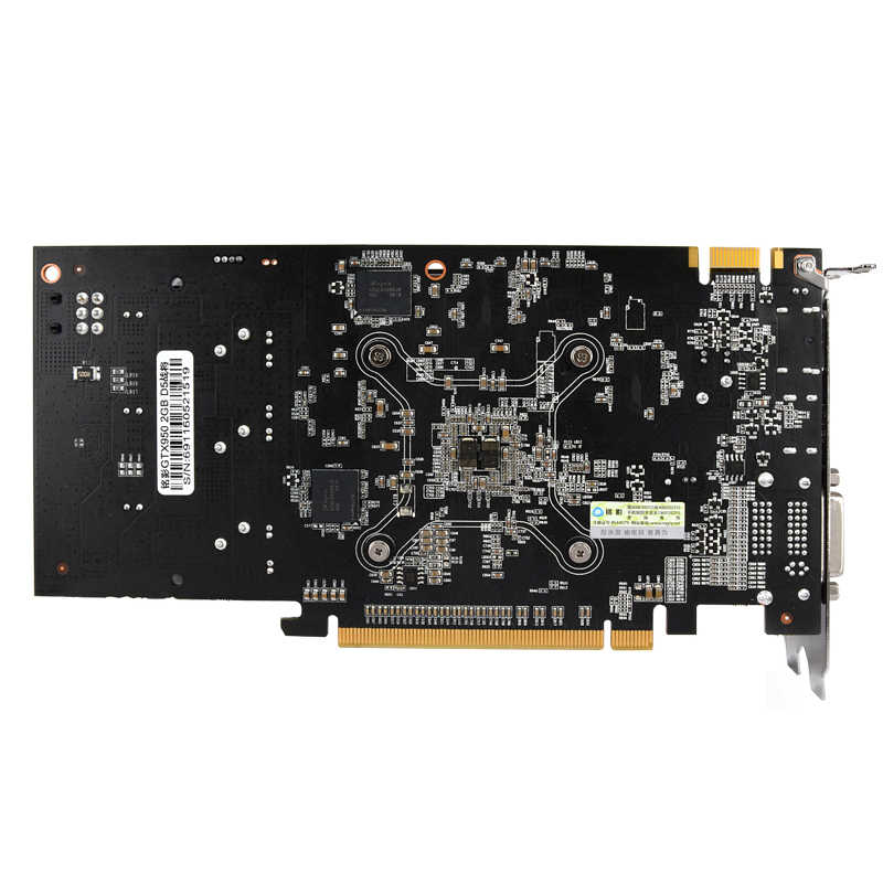 Tarjeta de vídeo Original gtx 950 2GB 128Bit GDDR5 tarjeta gráfica para nVIDIA Geforce GTX 950 Hdmi Dvi VGA tarjeta