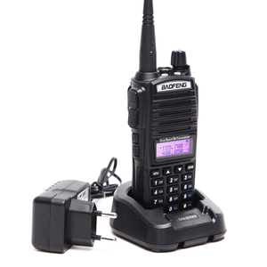 Image 3 - 2pcs BaoFeng UV 82 5W Walkie Talkie Dual Band VHF/UHF Double PTT BAOFENG uv 82 Amateur portable Radios