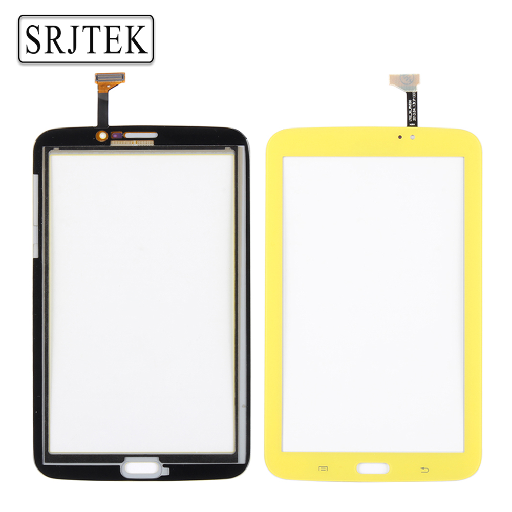 Srjtek For Samsung Galaxy TAB 3 7.0 Kids SM-T2105 (Wifi) T2105 Touch Screen Glass Digitizer Replacement Yellow Color 100% New
