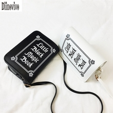 DIINOVIVO Letter Printing Shoulder Bag Rock Designer Women Bag