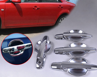 New Chrome Door Handle Cover Cup Bowl Combo For Mazda 6 2003 2004 2005 2006 2007