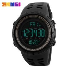 SKMEI бренд для мужчин s спортивные часы Роскошные Военная Униформа часы для мужчин открытый электронные цифровые часы мужской…