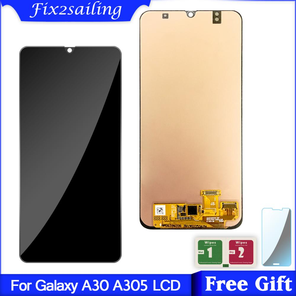 For Samsung galaxy A30 A305/DS A305F A305FD A305A Display Touch Screen Digitizer Assembly For Samsung A30 lcdFor Samsung galaxy A30 A305/DS A305F A305FD A305A Display Touch Screen Digitizer Assembly For Samsung A30 lcd