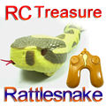 Envío Gratis RC Rattlesnake Control remoto Rattlesnake niños juguete animales eléctricos juguetes operados FSWB