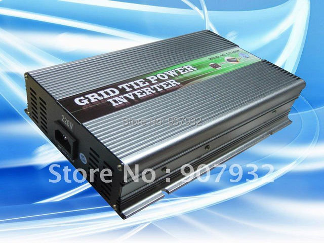 500w Grid Tie Power Inverter(500 watt, 28-52V DC input, 220V AC output) for solar panel