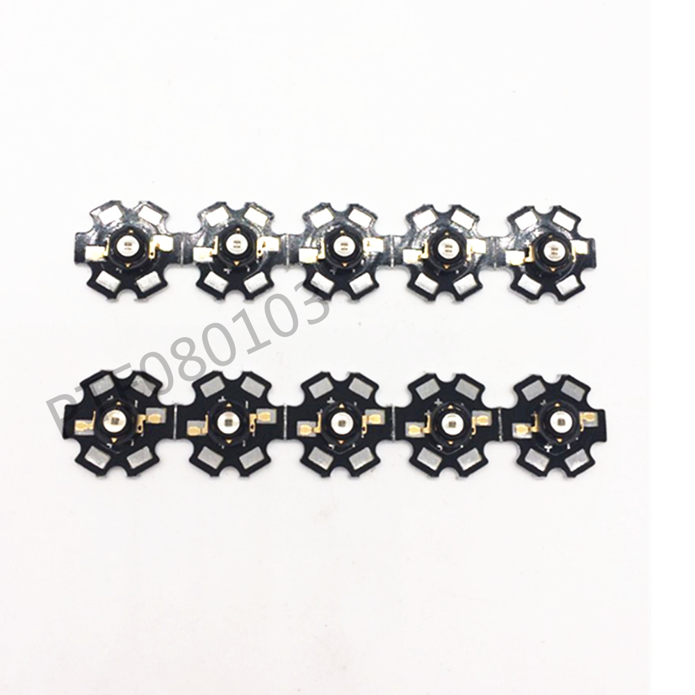 50pcs 3W 850nm / high power 940nm infrared LED beads launch dc1.5-1.7v 700mA base or PCB of some 20mm