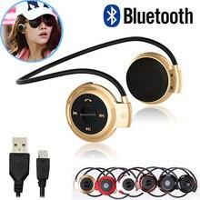 Mini503 Estéreo Bluetooth Inalámbrico Auriculares de Aislamiento de Ruido Del Micrófono y Tarjeta de TF/Auricular Auriculares para Deportes Al Aire Libre Regalos