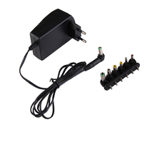 Hight Quality Universal AC DC Adapter Converter 3 4.5 6 7.5 9 12V Power Charger 2.5A     HR