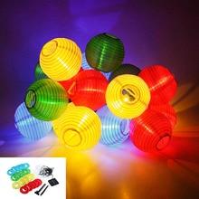 Solar Lamp Series 20LED Lamp String Lantern Flashing Christmas Decorations Fairy Light Outdoor Lights For Garden Xmas Tree