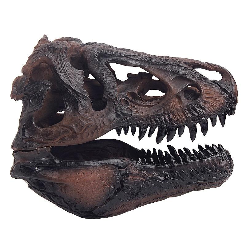 Newest Dinosaur Skull Tyrannosaurus Rex Dinosaur Resin Skull Model Simulation Model For Collection Size 16.7*11.7*12.3CM