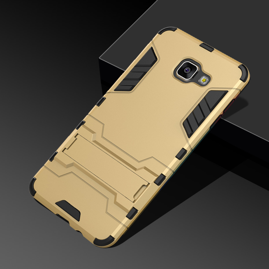 H&A Luxury Armor Phone Case For Samsung Galaxy A3 A5 A7 2016 Shockproof Cover For Samsung A8 Plus 2018 J5 J7 2017 Case Cover