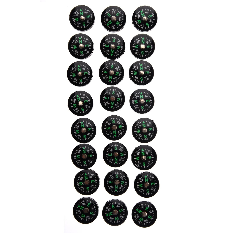 SZ-LGFM-Новые мини-компасы для выживания, 24 шт., 0,08 унции, 20 мм