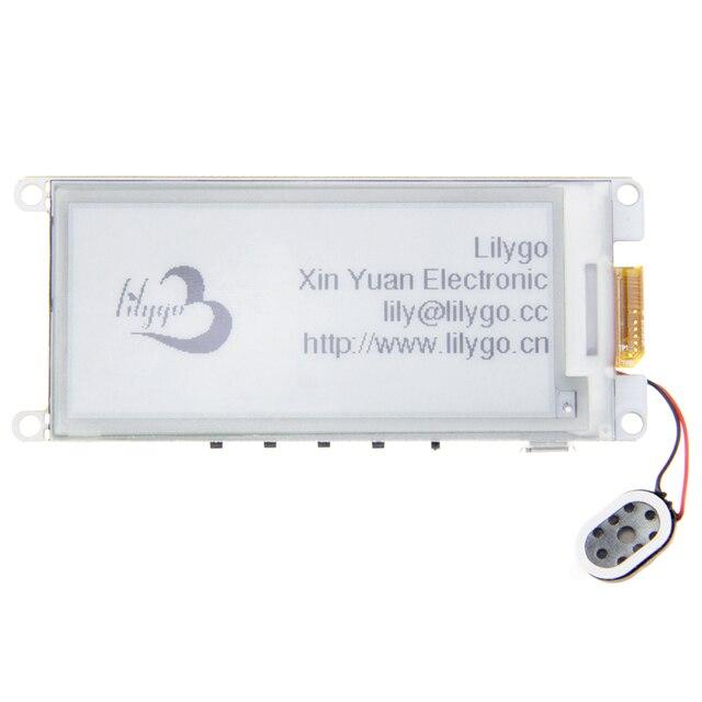 "LILYGO®TTGO T5 V2.2 ESP32 2.9 ""EPaper artı modülü e mürekkep hoparlörler"