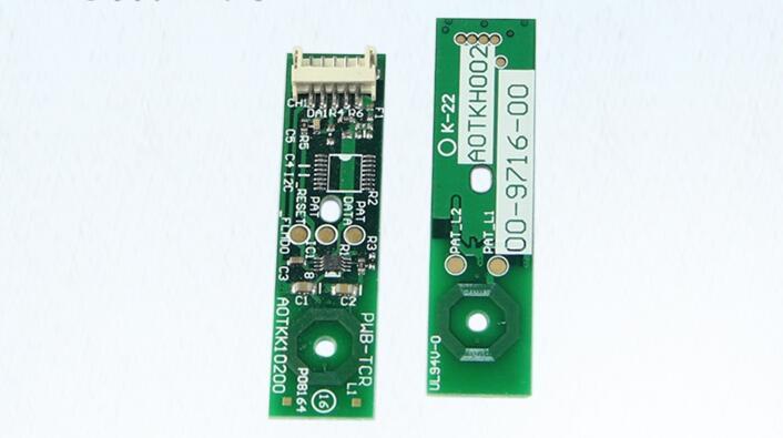 2017 compatible developer unit chips for konica minolta C220 C280 C360 C224 C284 copier cartridge chip